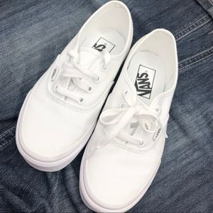Vans All White Classic Era Canvas Shoes